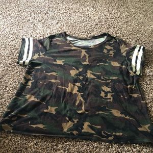 Camo Oversized Shirt